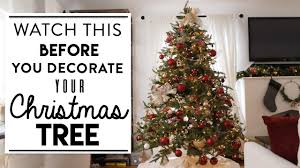 CHRISTMAS <b>TREE DECORATING</b> | Watch This BEFORE You ...