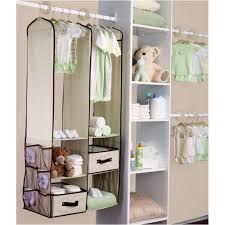 mesmerizing design baby nursery closet ideas features single with double hanging bars and blue fingernail nice wall hanging office organizer 4