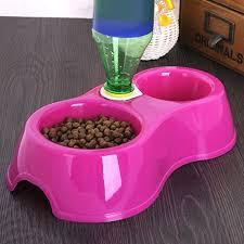 <b>1pcs Dual Port Dog</b> Cat Pets Automatic Water Dispenser Feeder ...