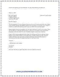 business letter format oksuje yourmomhatesthis business letter format simple effective