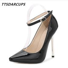 Dress <b>Ttsdarcups New</b> 13cm Metal Heel Model And Show Sexy ...