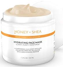 Hydrating Face Mask with Hyaluronic Acid ... - Amazon.com