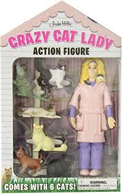 Crazy <b>Cat Lady</b> Action Figure: Amazon.co.uk: Toys & Games