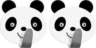 """<b>Крючок Tatkraft</b> """"<b>Panda</b>"""", <b>самоклеящийся</b>, 2 шт — купить в ..."""