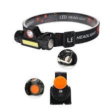 xanes 800lm xpe+cob 90° rotatable <b>led headlamp</b> usb rechargeable ...