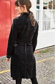 Купить Черное <b>вельветовое платье-рубашка</b> на сайте Next: Россия