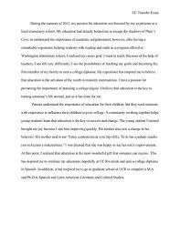 college personal statement essay examples Horizon Mechanical