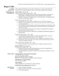 sample resume for airline customer service representative sample resume for airline customer service representative customer service representative cover letter for resume airline customer