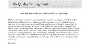 Examples of a personal statement for graduate school     aploon