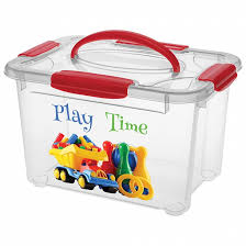 <b>Коробка универсальная</b> с ручкой и рисунком Детское творчество ...