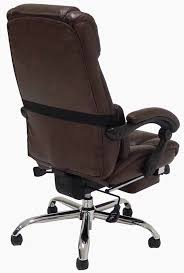 leather reclining office chair w footrest brilliant tall office chair