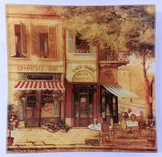 "<b>Тарелка</b> Gift'n'<b>Home</b> ""Парижское кафе"", 20 х 20 см"