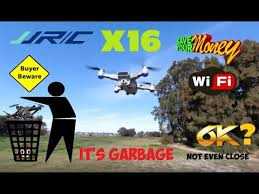 <b>JJRC X16</b> Heron 6K GPS Drone Flight Review - It's GARBAGE ...