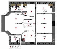 Evacuation Plans and Procedures eTool   Emergency Standards   Fire    Office  Office  Closet  Hallway  Restrooms  Workshop  Hallway  Office