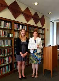 gumberg library news nursing student annabel rayl wins gumberg nursing student annabel rayl wins gumberg library scholarship