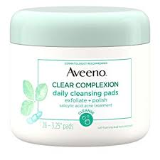 Aveeno Clear Complexion <b>Daily Facial Cleansing Pads</b>...