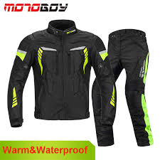 <b>Riding Tribe</b> Winter <b>Motorcycle</b> Jacket Pants Warm <b>Windproof</b> Moto ...