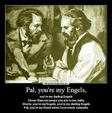 Resultado de imagen para Fotos de Marx Engels, juntos
