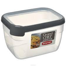 """Емкость для заморозки и СВЧ <b>Curver</b> """"Grand Chef"""", цвет: серый, 2 ..."""