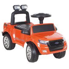 Машина -<b>каталка Ford Ranger</b>, цвет: <b>крашенный</b> оранжевый ...