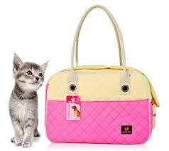 Enjoying Cat Carriers <b>Pet Carrier</b> Soft Sided Doggie <b>Puppy Travel</b> ...