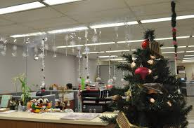 office xmas decoration ideas awesome with green pine christmas tree colorful glitter f ornaments mixed hanging apply brilliant office decorating ideas