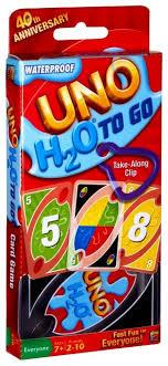 Настольная <b>игра Mattel</b> Uno H2O P1703 — купить по выгодной ...