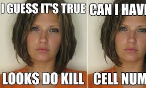 Attractive Convict' meme: Doctored mugshots poking fun at ... via Relatably.com
