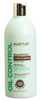<b>KATIVA Шампунь</b> для жирных волос <b>Контроль</b> / OIL <b>CONTROL</b> ...