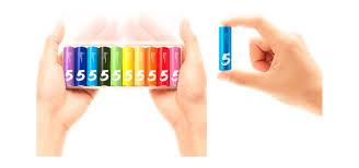 <b>Батарейки</b> алкалиновые <b>Xiaomi</b> ZMI Rainbow ZI5 AA524 (тип <b>АА</b> ...