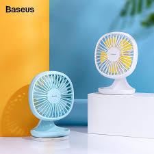 <b>Baseus</b> Портативный <b>USB Вентилятор</b> 3-Speed Мини ...