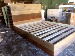 recycled pallet bed frame bedroomeasy eye upcycled pallet furniture ideas