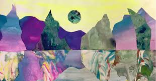 How to Make Marble Paper Art <b>Landscape Collages</b> for Kids