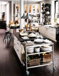 kitchen island cart rolling kitchen island tables and rolling carts add multi functional moving pa