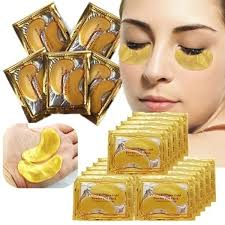 <b>10pcs</b>=5 Pack Hi-Q Eye Mask <b>Golden Crystal</b> Collagen Eye Mask ...