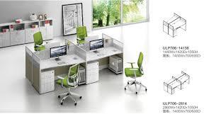 good quality modern office workstationsl shape desk top office partition aluminum profiles aluminum office partitions