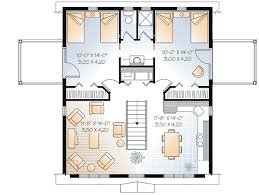 Compact Carriage House Plan   DR   nd Floor Master Suite    Reverse Floor Plan Pinit white