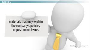 communications manager job description duties and requirement