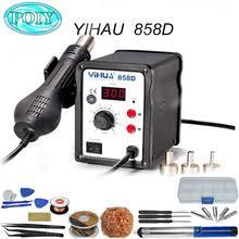 <b>YIHUA 858D паяльная станция</b> с горячим воздухом, ремонтная ...