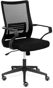 <b>Кресло</b> компьютерное <b>TetChair</b> «<b>Mesh</b>-<b>4</b>» (Чёрная <b>ткань</b>) купить ...