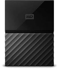 <b>WD My Passport</b> 1TB Portable External Hard Drive (Black) - Buy WD ...