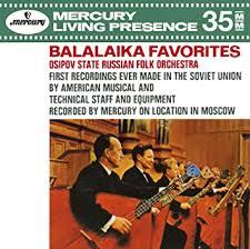 <b>Osipov State Russian Folk</b> Orchestra - Feast Of Balalaika [Japan CD ...
