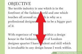 image titled write resume objectives step 8 what to say in a resume objective