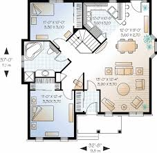 Modern Small House Plans And Design Floor Plan Open Concept    story bedroom house plans small two story house plans story