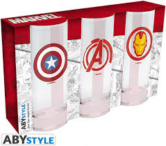 «Бокал ABYstyle: <b>MARVEL</b>: <b>Avengers</b> Captain America & <b>Iron</b> Man ...