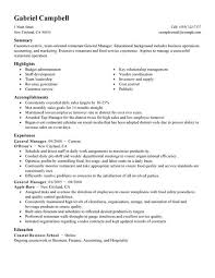 operation manager resume bank operations manager resume sample