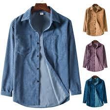 Super Deal #efe371 - 2020 Fall <b>Corduroy</b> Shirt Collar Long Sleeve ...