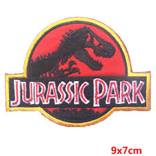 <b>Prajna Jurassic Park</b> Dinosaur Iron on Embroidered <b>Patch</b>