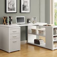 small office drawers 1 dark brown l shaped desk with drawers for grey home office amazing wood office desk corner