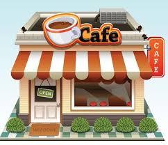 Image result for cafe cartoon